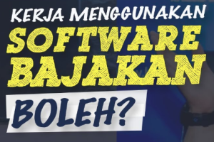 software bajakan